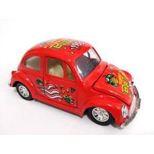 """Beetle Die Cast Car Flying Beetles Red 5"""""""
